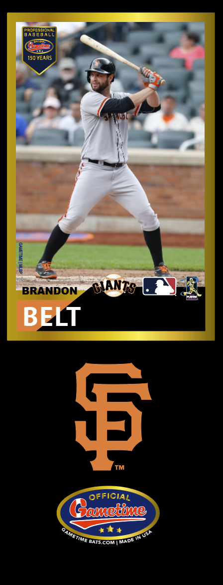 Brandon Belt Photo Bat | MLB Collection