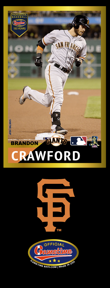 Brandon Crawford Photo Bat | MLB Collection