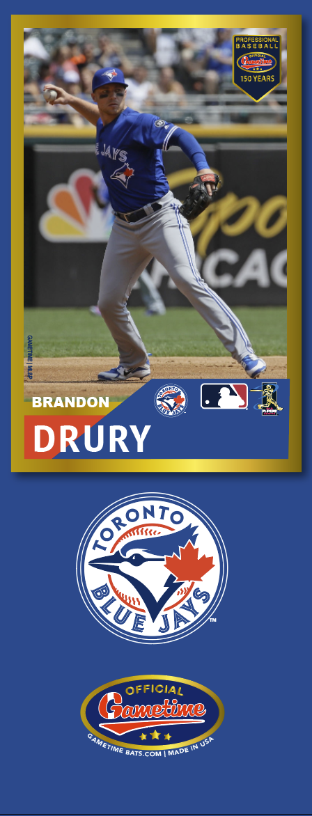 Brandon Drury Photo Bat | MLB Collection