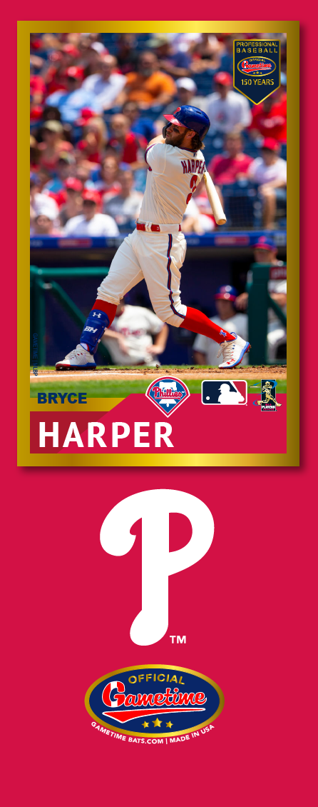 Bryce Harper Photo Bat | MLB Collection