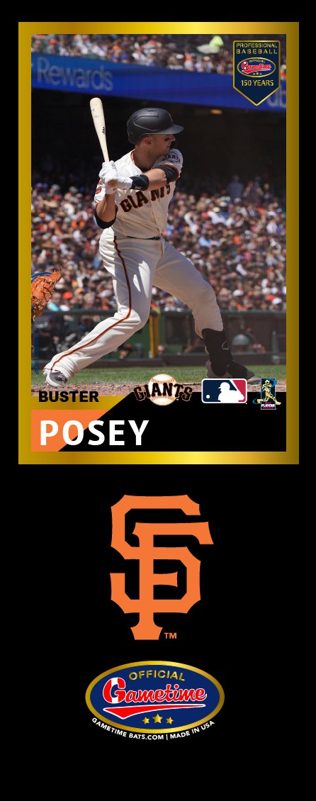 Buster Posey Photo Bat | MLB Collection