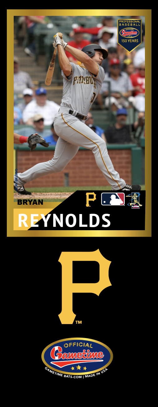 Bryan Reynolds Photo Bat | MLB Collection