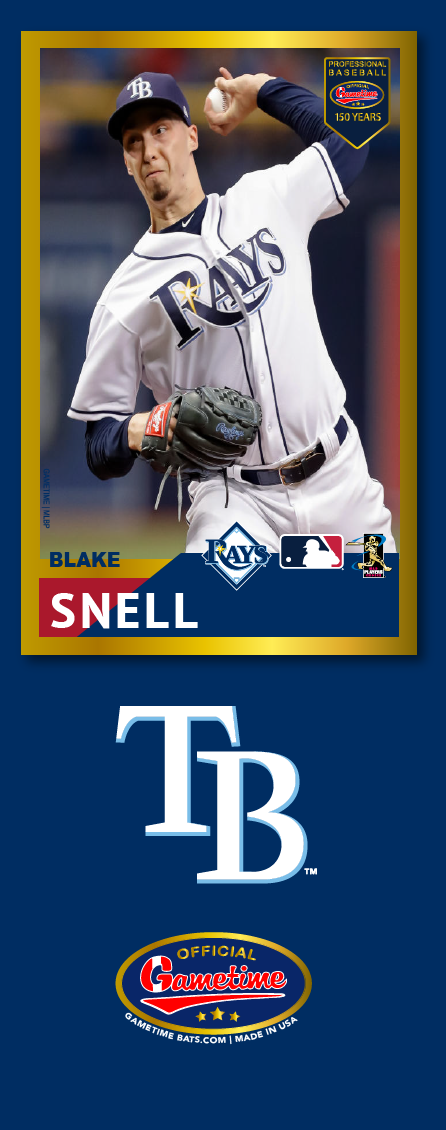 Blake Snell Photo Bat | MLB Collection