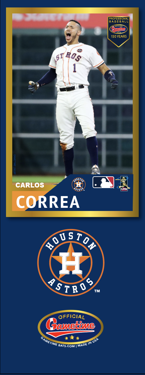 Carlos Correa Photo Bat | MLB Collection