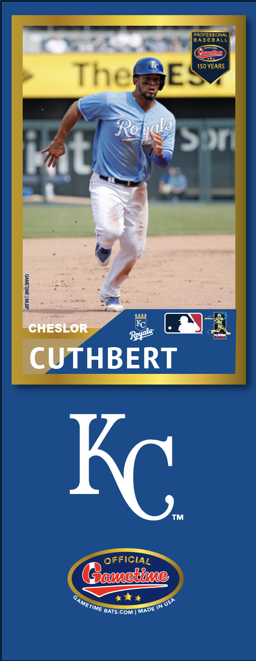 Cheslor Cuthbert Photo Bat | MLB Collection