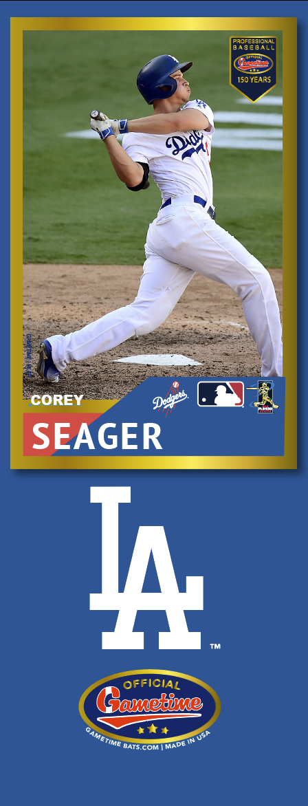 Corey Seager Photo Bat | MLB Collection