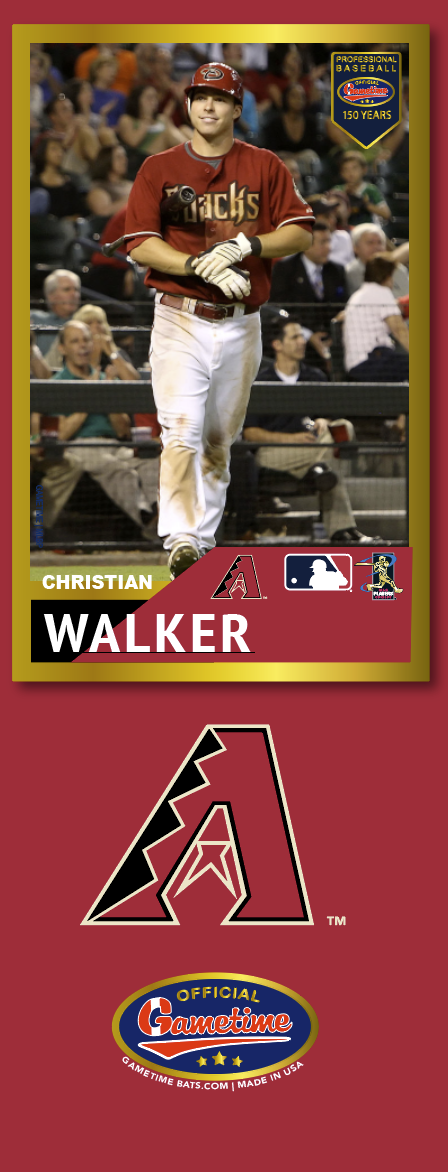 Christian Walker Photo Bat | MLB Collection