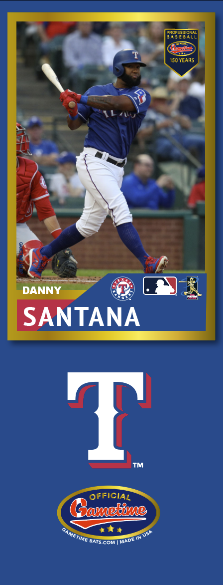 Danny Santana Photo Bat | MLB Collection