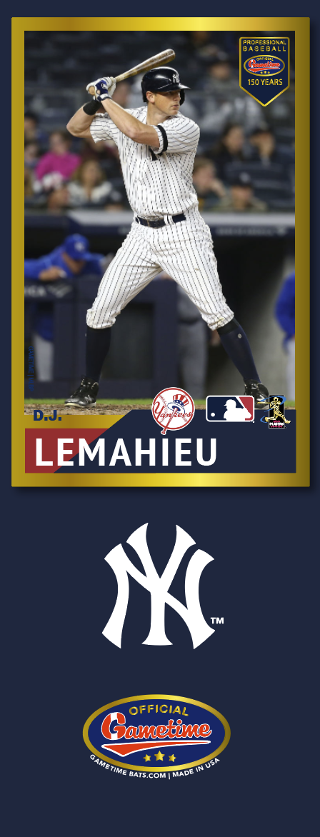 DJ LeMahieu Photo Bat | MLB Collection
