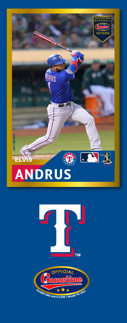 Elvis Andrus Photo Bat | MLB Collection