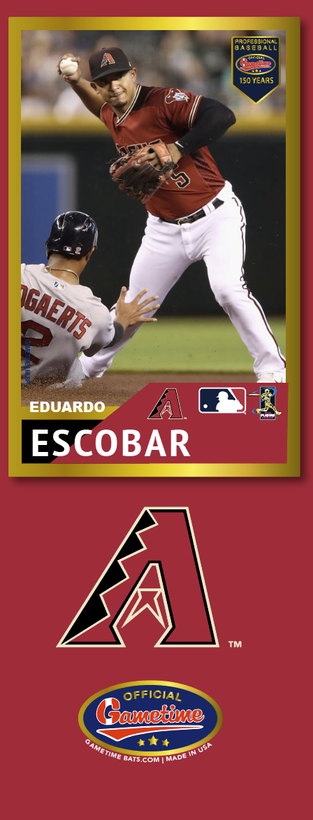 Eduardo Escobar Photo Bat | MLB Collection