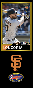 Evan Longoria Photo Bat | MLB Collection