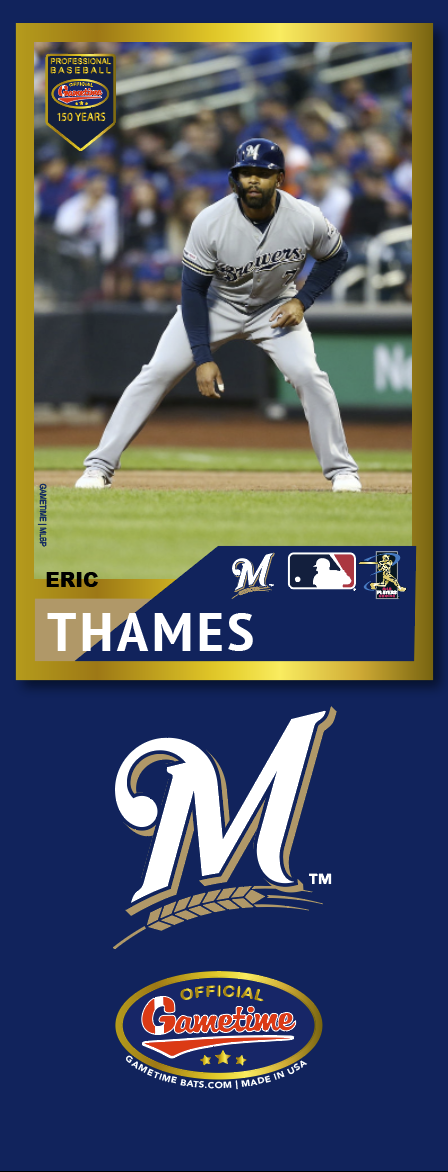 Eric Thames Photo Bat | MLB Collection