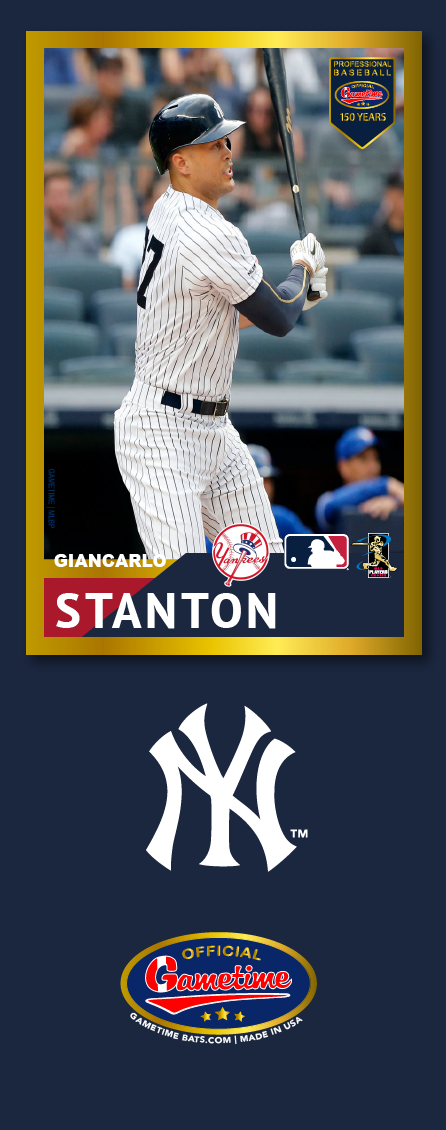 Giancarlo Stanton Photo Bat | MLB Collection