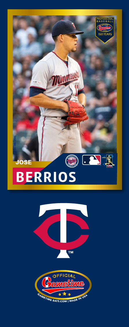 Jose Berrios Photo Bat | MLB Collection