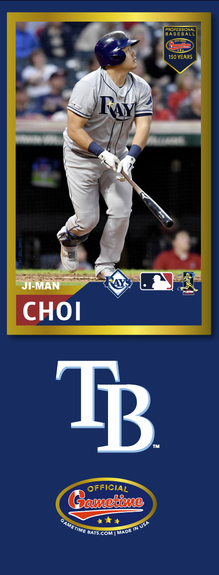Ji-man Choi Photo Bat | MLB Collection