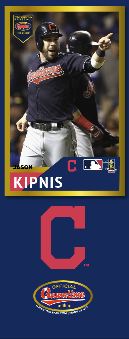 Jason Kipnis Photo Bat | MLB Collection