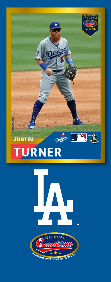 Justin Turner Photo Bat | MLB Collection