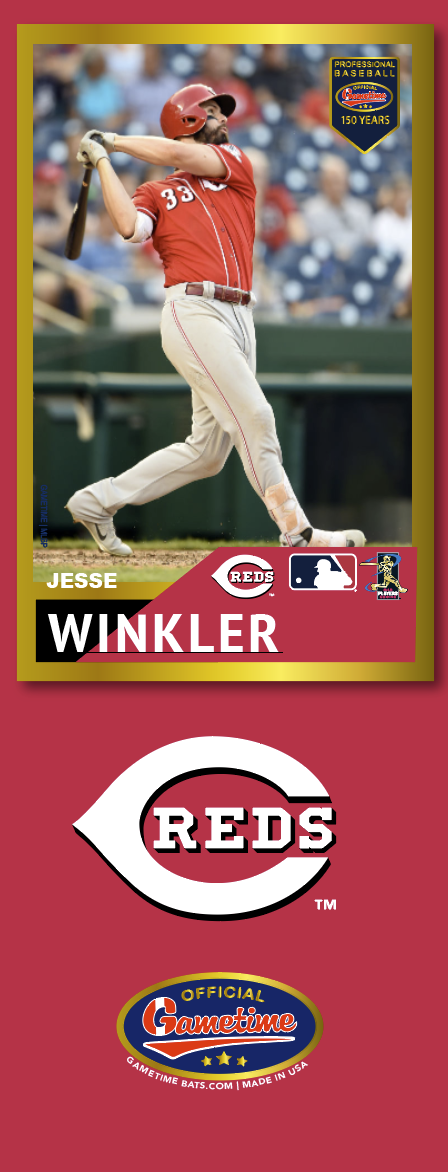 Jesse Winkler Photo Bat | MLB Collection