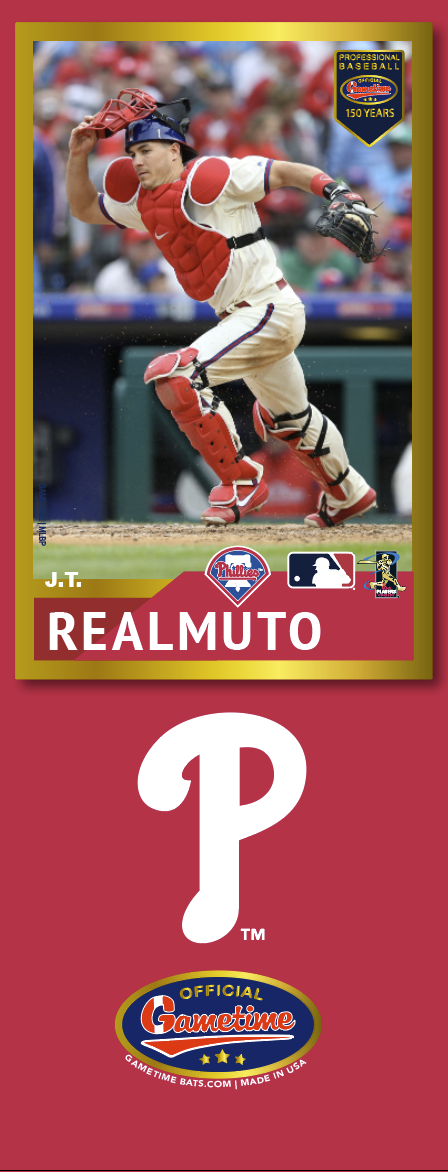JT Realmuto Photo Bat | MLB Collection