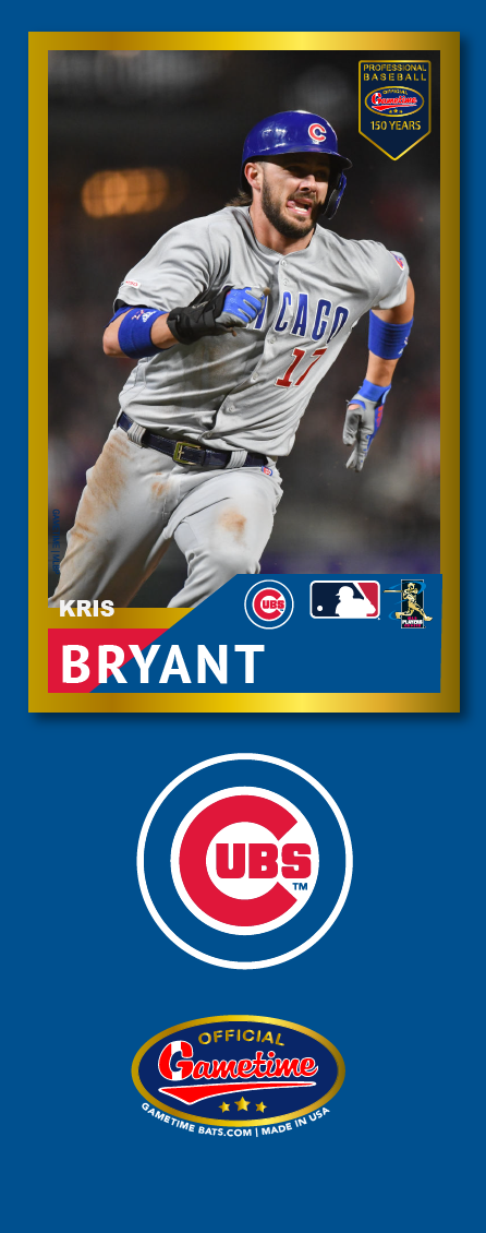 Kris Bryant Photo Bat | MLB Collection