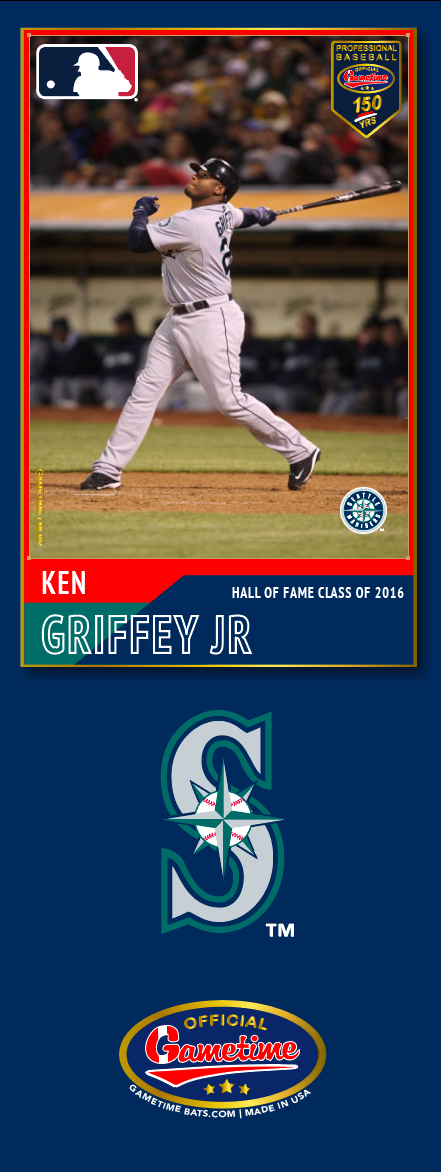 Ken Griffey Jr. Photo Bat | MLB Hall of Fame Collection