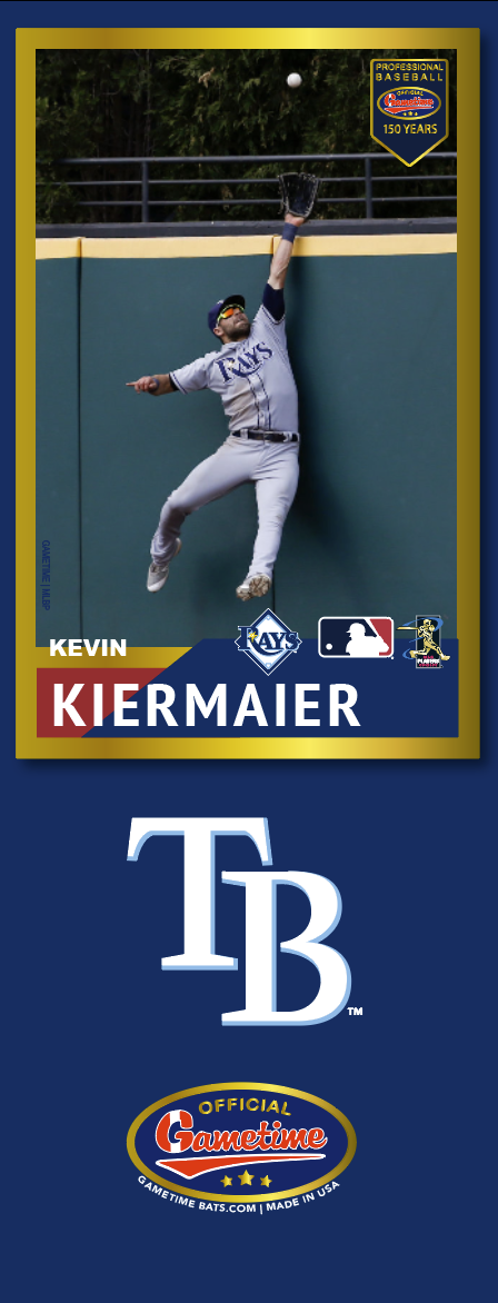 Kevin Kiermaier Photo Bat | MLB Collection