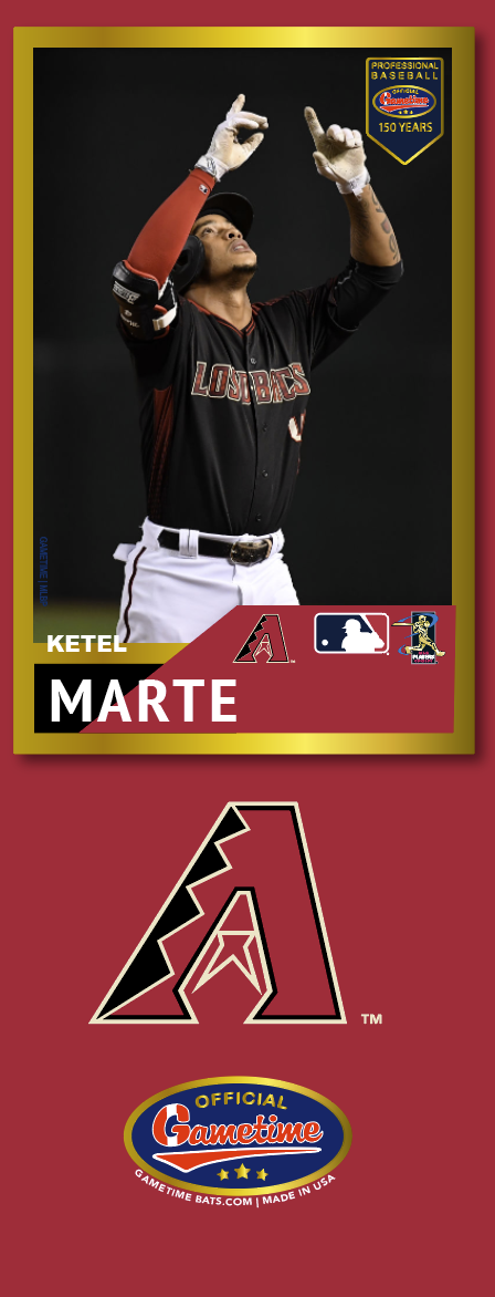 Ketel Marte Photo Bat | MLB Collection