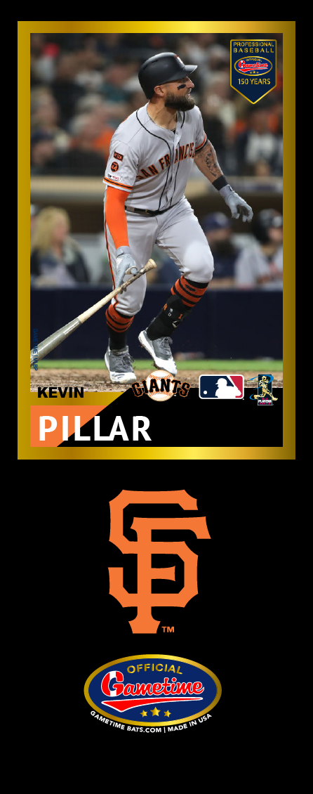 Kevin Pillar Photo Bat | MLB Collection