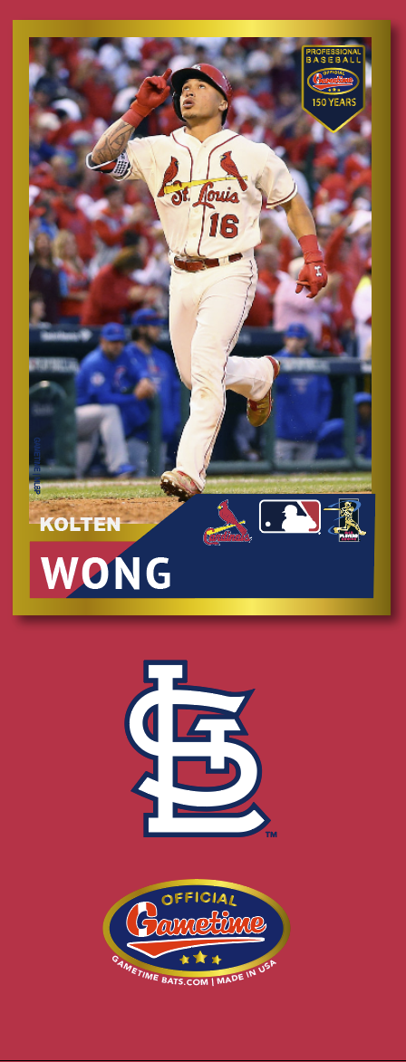 Kolten Wong Photo Bat | MLB Collection