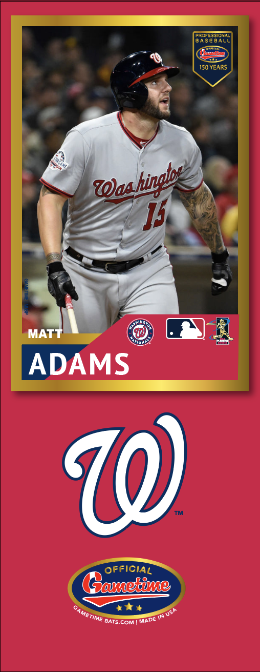 Matt Adams Photo Bat | MLB Collection