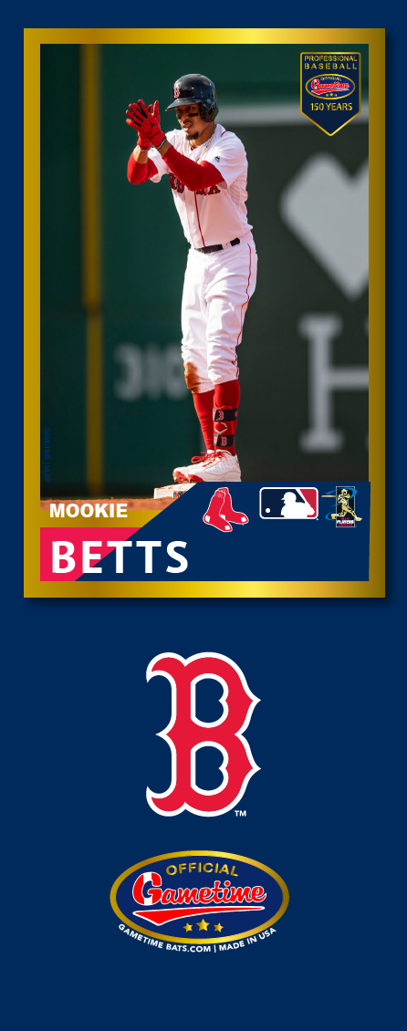 Mookie Betts Photo Bat | MLB Collection