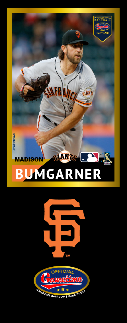 Madison Bumgarner Photo Bat | MLB Collection