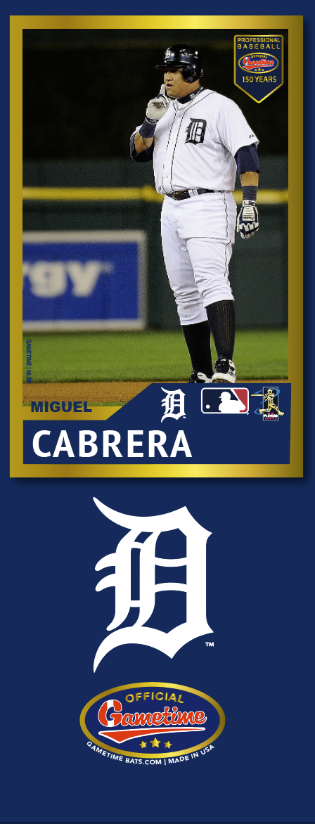 Miguel Cabrera Photo Bat | MLB Collection