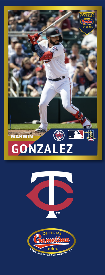 Marwin Gonzalez Photo Bat | MLB Collection