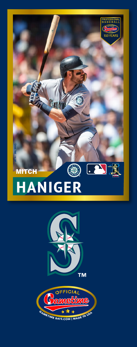 Mitch Haniger Photo Bat | MLB Collection