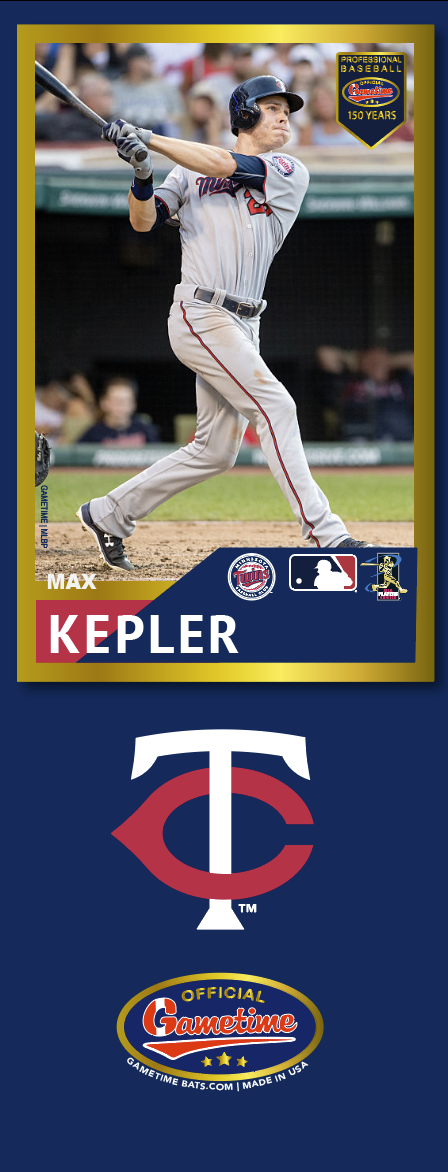 Max Kepler Photo Bat | MLB Collection