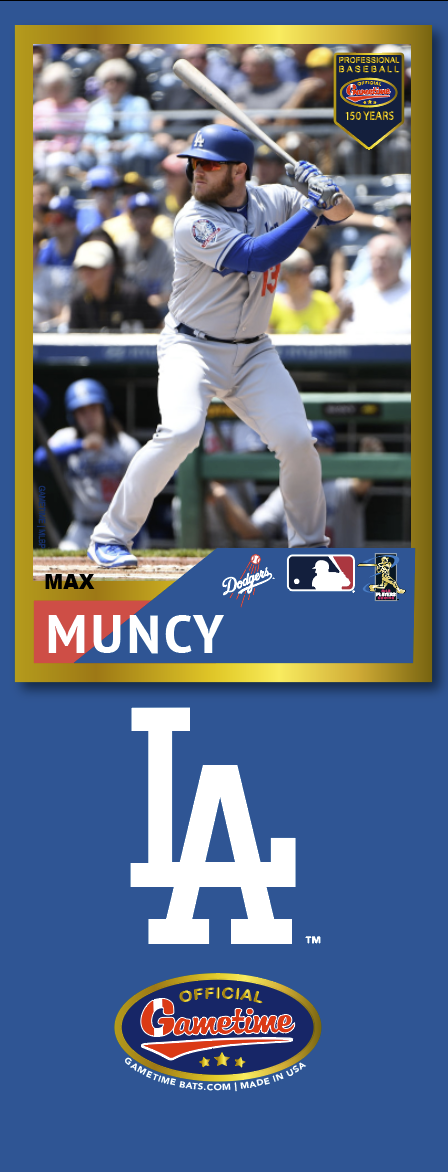 Max Muncy Photo Bat | MLB Collection
