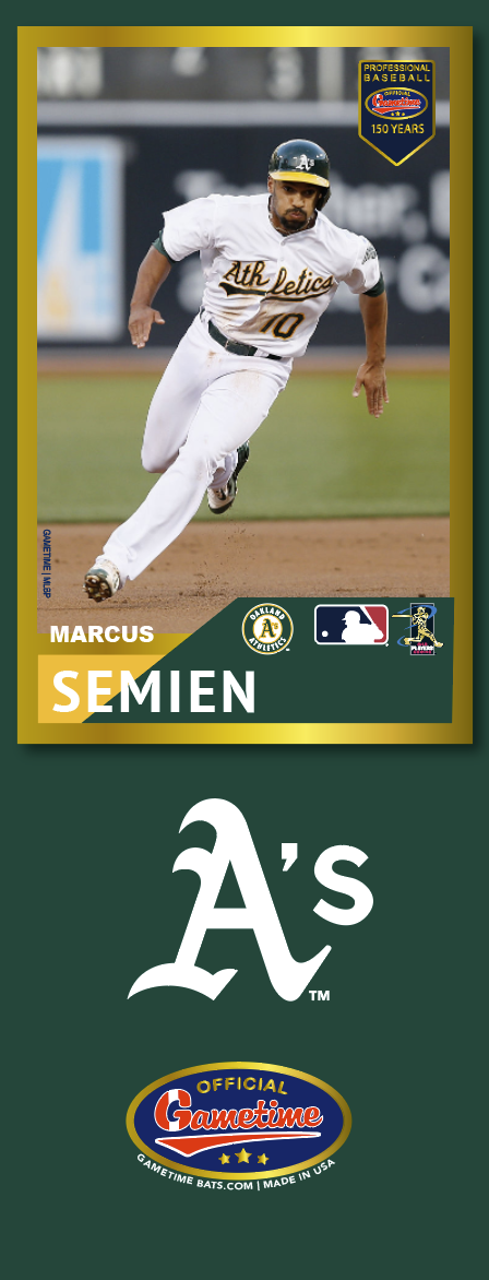 Marcus Semien Photo Bat | MLB Collection