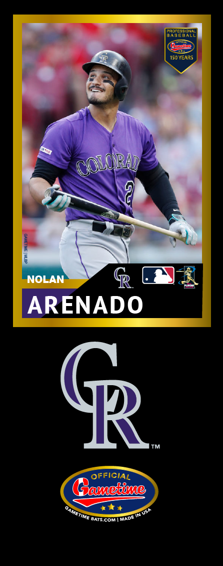 Nolan Arenado Photo Bat | MLB Collection