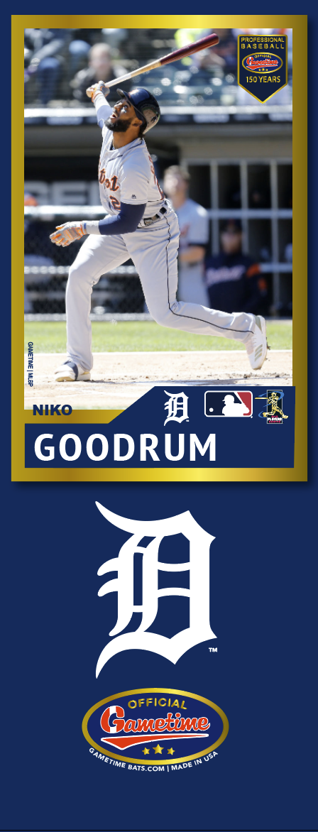 Niko Goodrum Photo Bat | MLB Collection