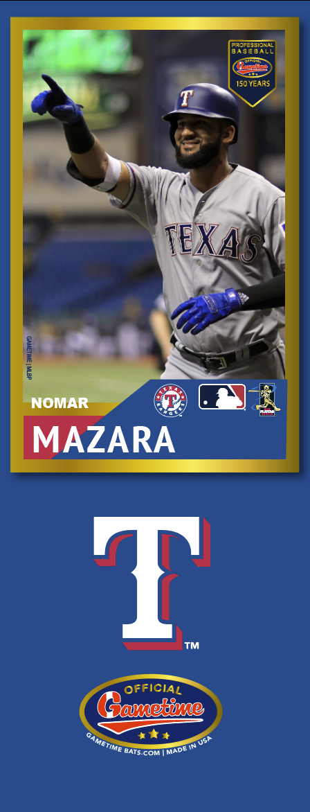Nomar Mazara Photo Bat | MLB Collection