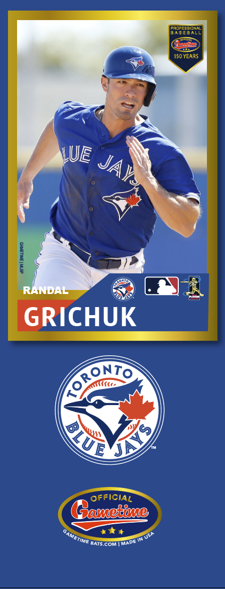 Randal Grichuk Photo Bat | MLB Collection
