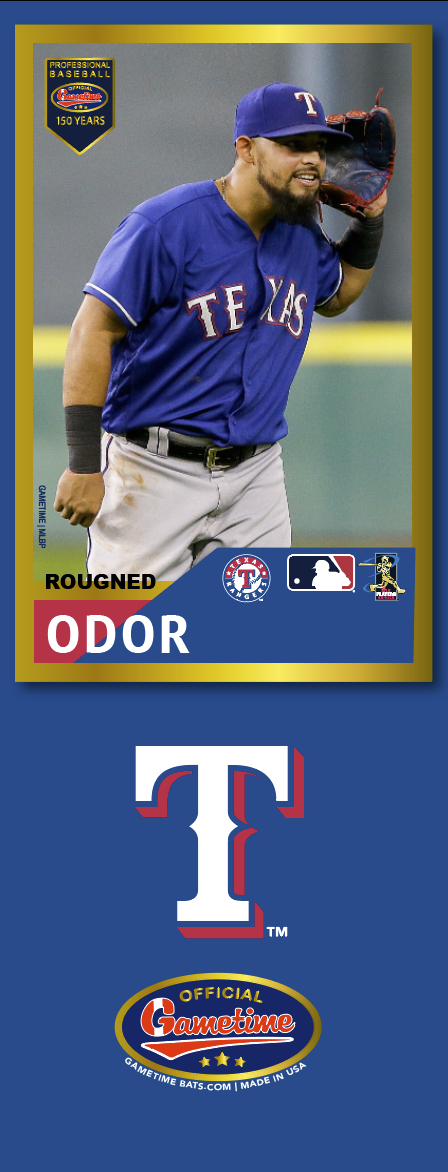 Rougned Odor Photo Bat | MLB Collection