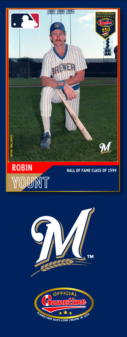 Robin Yount Photo Bat | MLB Hall of Fame Collection