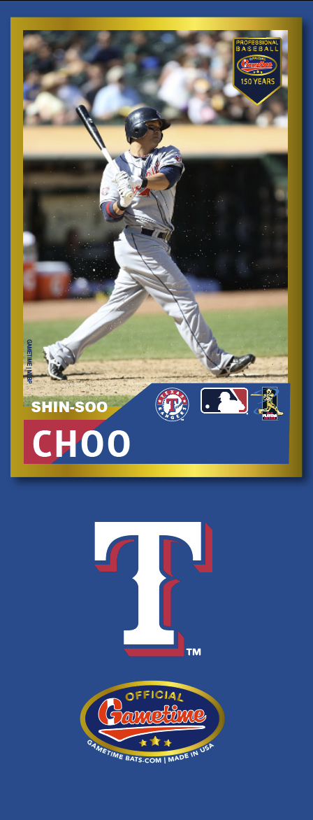 Shin-soo Choo Photo Bat | MLB Collection