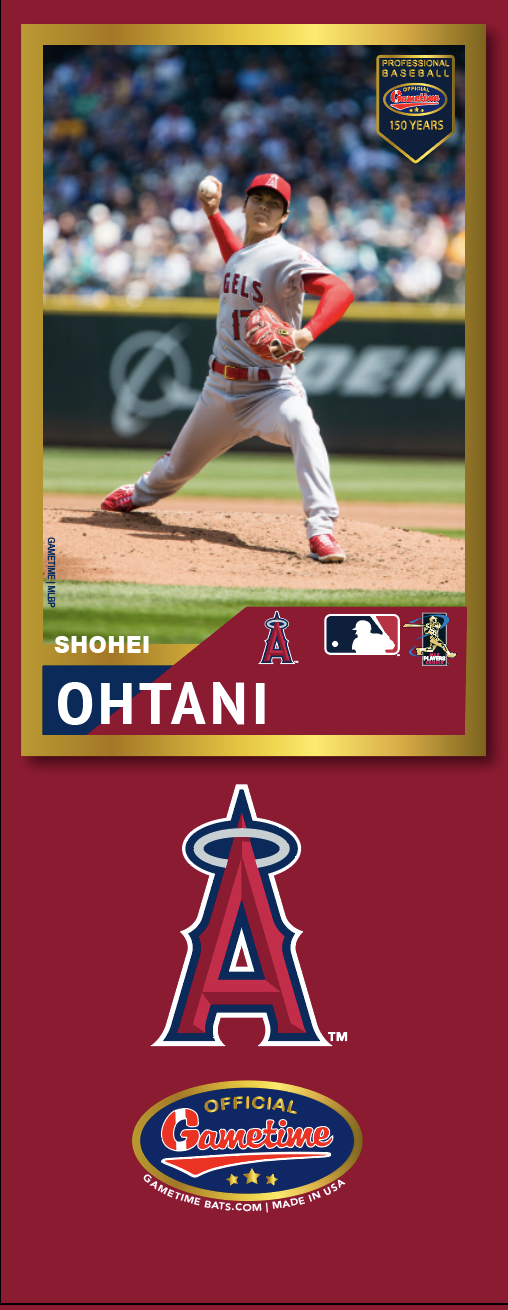 Shohei Ohtani Photo Bat | MLB Collection