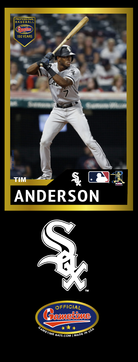 Tim Anderson Photo Bat | MLB Collection
