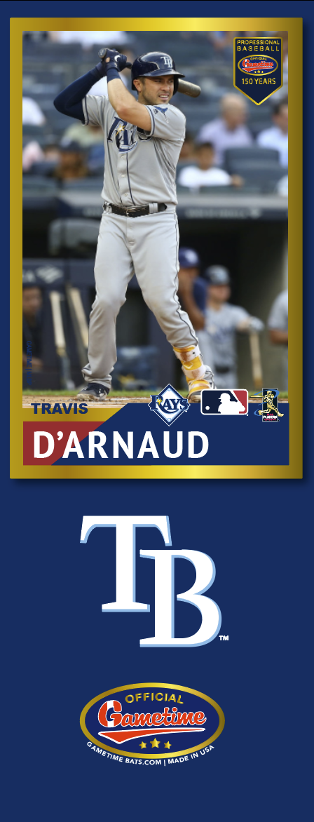 Travis d'Arnaud Photo Bat | MLB Collection