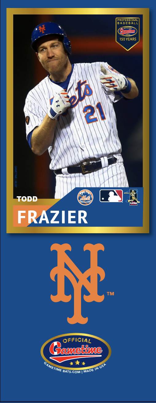Todd Frazier Photo Bat | MLB Collection